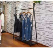 Coat rack adult OTHER assemble no Metal Simple and modern move Support structure Metal technology iron