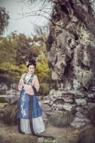 Custom made Hanfu A full set of 6 pieces (formal delivery and collection of Chinese clothing), a full set of 6 pieces (collar type Chinese clothing in the figure), one skirt in stock, data see details, a set of 165m in stock, data see details other