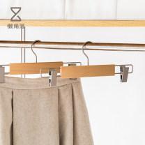 coat hanger 1 Single pack wood Lazy corner public 34cm bedroom Solid color Japanese  Chinese Mainland