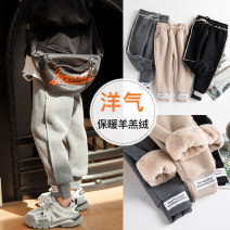 trousers Xiya bear female 100cm 110cm 120cm 130cm 140cm 150cm 160cm No season trousers motion There are models in the real shooting Plush trousers Leather belt High waist cotton Don't open the crotch Cotton 70% polyester 27% polyurethane elastic fiber (spandex) 3% Winter of 2019 Chinese Mainland