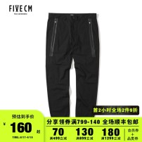 Casual pants 5cm other BKX / black KHX / Khaki S M L XL trousers Other leisure Straight cylinder 5CXPTB6118F8B Cotton 97.4% polyurethane elastic fiber (spandex) 2.6% Winter of 2018 Same model in shopping mall (sold online and offline)