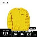 Sweater Youth fashion 5cm Black/BKX Yellow/YEX S M L XL other Socket routine Crew neck winter easy leisure time youth tide routine 5CXSWB3163F8B Cotton 100% Winter of 2018 Same model in shopping mall (sold online and offline) Japanese and Korean style