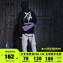 Casual pants 5cm Youth fashion BKX / black bgy / gray S M L XL routine trousers Other leisure Straight cylinder 5CXPTF6105F8B youth 2018 Polyester 100% Autumn of 2018 Same model in shopping mall (sold online and offline)