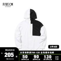 Sweater Youth fashion 5cm BKX / black whx / white S M L XL Solid color Socket routine easy routine 5CXSWS3118F8B Polyester 69.8% cotton 29.2% polyurethane elastic fiber (spandex) 1% Autumn of 2018