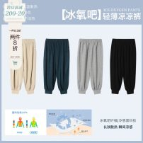 trousers AbebeCrew male 80, 90, 100, 110, 120, 130 Black, khaki, premium green, flower grey, black second batch, premium green second batch, khaki second batch, flower grey second batch summer trousers leisure time There are models in the real shooting Sports pants Leather belt middle-waisted other