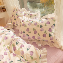 Bedding Set / four piece set / multi piece set cotton other Others 133x72 Goodnite cat / goodnight cat cotton 4 pieces 40 Tulip, Charlotte, rainbow pie, Lotte pie, chocolate, sweet rabbit, sunset, ice cream powder, ice cream purple, ice cream yellow, ice cream jade Qualified products Princess style