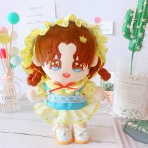 BJD doll zone suit other Over 3 years old goods in stock Green bud dress suit, Princess Shoes White 20 cm Yes