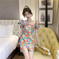 Women's large Summer 2020 Picture color S M L Dress singleton  commute Korean version XG62970 Yinlizi 18-24 years old Other 100% Pure e-commerce (online only)