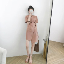Fashion suit Summer of 2019 S M L XL Pink 18-25 years old Yinlizi 96% and above Other 100% Pure e-commerce (online only)