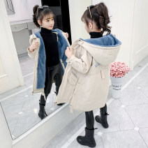 Plain coat Vicksberg female 110cm 120cm 130cm 140cm 150cm 160cm 165cm winter Zipper shirt There are models in the real shooting thickening No detachable cap other other Polyester 100% Class C Autumn 2020