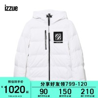 Down Jackets BKX / black whx / white izzue White duck down 2 3 4 5 Youth fashion Other leisure routine Other 100% Winter of 2019 Same model in shopping mall (sold online and offline)