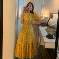 Fashion suit Summer of 2019 S M L yellow Other 100%