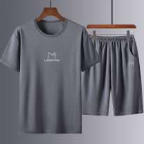 T-shirt Fashion City routine M L XL 2XL 3XL Chaonan Valley Short sleeve Crew neck standard daily summer CNG-6616 Polyester 95% polyurethane elastic fiber (spandex) 5% teenagers routine tide Summer of 2019 printing No iron treatment Pure e-commerce (online only)