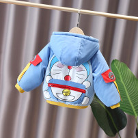 Plain coat Baby / baby neutral 80cm 90cm 100cm 110cm 120cm 130cm spring and autumn Cartoon Zipper shirt No model Plush nothing Cartoon animation cotton Crew neck Cotton 95.1% polyurethane elastic fiber (spandex) 4.9% Class A Spring 2020
