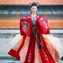 National costume / stage costume Autumn of 2019 Big sleeve, suspender and pleated skirt, big sleeve, suspender and pleated skirt S,M,L S1421 Chi Xia