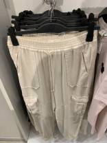 Casual pants Off white 32 150/60A,34 150 64A,36 155/68A,38 155/72A,40 160/76A,42 160/80A Summer 2020 trousers Other / other