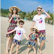 Parent child fashion Suit top + pants skirt Women's dress female Of Model 1 leisure time suit fourteen million three hundred and eleven thousand six hundred and twenty Cotton 80% other 20%
