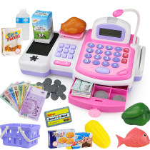 House toys 4 years old 5 years old 6 years old 7 years old 8 years old 9 years old Other/others Simulation cash register plastic No five thousand nine hundred and eleven