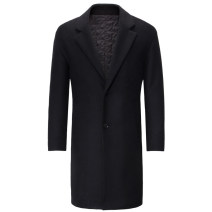 woolen coat black 165/88A 170/92A 175/96A 180/100A 185/104A Youngor Fashion City Autumn of 2019 Medium length Other leisure standard Pure e-commerce (online only) youth tailored collar Single breasted other