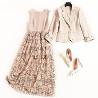Fashion suit Winter 2016 S,M,L,XL,XXL Apricot L543