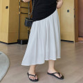 Women's large Summer 2020 One, two, three, four skirt singleton  commute Korean version xiaolidama 25-29 years old Middle-skirt