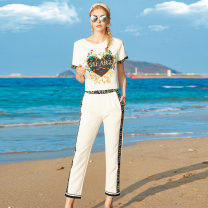Fashion suit Summer 2021 S,M,L,XL white 25-35 years old DIDABOLE 51% (inclusive) - 70% (inclusive)