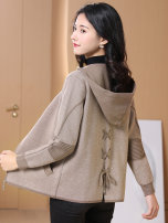 Wool knitwear Autumn 2020 S,M,L,XL,XXL Camel, black grey Long sleeves singleton  Cardigan other 31% (inclusive) - 50% (inclusive) have cash less than that is registered in the accounts routine commute easy Hood routine Color matching zipper Korean version HJS20Q19208L-3 Other / other