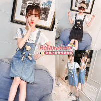 suit Other / other female summer leisure time Short sleeve + skirt 2 pieces Thin money There are models in the real shooting Condom No detachable cap Solid color other children Shopping 3621 Class B Other 100% 14, 3, 5, 9, 12, 7, 8, 6, 13, 11, 4, 10 Chinese Mainland Huzhou City Zhejiang Province