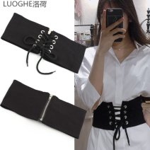 Dress Winter 2020 black 58 64 Miniskirt commute 18-24 years old Luoghe / loho lady bow z165_ 4wpaA More than 95% other Other 100%