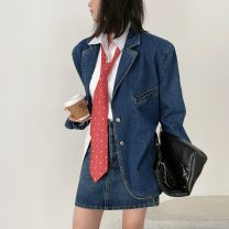 skirt Spring 2021 XS,S,M Denim blue 18-24 years old CC0422 30% and below