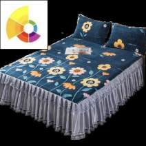 Bed skirt Acetate fiber Other / other Plants and flowers Qualified products