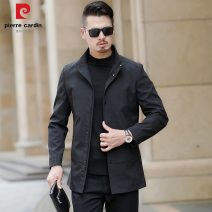 Jacket Pierre Cardin / Pierre Cardin Fashion City Black, green, pure black, dark green 170 / m, 175 / L, 180 / XL, 185 / 2XL, 190 / 3XL. If you are not satisfied with it, we will pay for the postage routine Self cultivation Other leisure autumn F- Polyester 100% Long sleeves Wear out stand collar