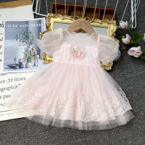 Dress Pink female Other / other 80cm,90cm,100cm,110cm,120cm Other 100% summer leisure time Short sleeve Solid color other A-line skirt Y2120022 Class B Seven, eight, three, three months, six, five, four, ten, nine Chinese Mainland Zhejiang Province Taizhou City