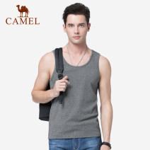 Vest / vest Fashion City Camel M L XL XXL XXXL Black grey jujube Other leisure standard Sweat vest X9N355029 Cotton 90.3% polyurethane elastic fiber (spandex) 9.7% Summer of 2019 Same model in shopping mall (sold online and offline)