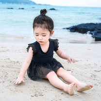 Children's swimsuit / pants Young sleeve 80 (for 65-80cm) 90 (for 80-90cm) 100 (for 90-100cm) 110 (for 100-110cm) 120 (for 110-120cm) 130 (for 118-128cm) Children's one piece swimsuit female CX2019-RM0207 Spring of 2019