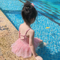 Children's swimsuit / pants Young sleeve 90 (suitable for 80-90cm) 100 (suitable for 90-100cm) 110 (suitable for 100-110cm) 120 (suitable for 110-120cm) 130 (suitable for 120-130cm) Pink beibai Casual surf swimsuit children's one piece female nylon CX2020-RM0006 Spring 2020