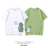 T-shirt White-506 black-506 pink-506 avocado green-506 haze blue-506 ginger yellow-506 white-505 black-505 pink-505 avocado green-505 haze blue-505 ginger yellow-505 Bunny 80cm 90cm 100cm 110cm 120cm 130cm 140cm 150cm 160cm 170cm 160/XS 165/S 170/M 175/L 180/XL 185/XXL 190/XXXL neutral summer nothing
