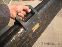 erhu fiddle woodiness Students use performance Professional college beginners Calligraphy erhu box