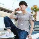 T-shirt Youth fashion thin M L XL 2XL 3XL Gebotoo / geboto Short sleeve Crew neck Self cultivation Other leisure summer GBT-851FY Cotton 100% youth routine Youthful vigor Spring 2021 Geometric pattern Yichun UNIQLO Hailan home Fashion brand Pure e-commerce (online only)