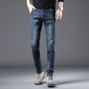 Jeans Fashion City Gebotoo / geboto 27 28 29 30 31 32 33 34 36 Blue black routine Micro bomb Regular denim GBT6V1PP8Z2GN5 trousers Cotton 74.9% polyester 23.7% polyurethane elastic fiber (spandex) 0.9% viscose fiber (viscose) 0.5% Four seasons youth middle-waisted Slim feet tide 2021 zipper