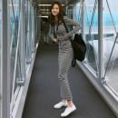 Casual suit Autumn of 2019 stripe S,M,L,XL 9-18 Other / other 51% (inclusive) - 70% (inclusive) cotton