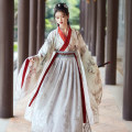 Hanfu 91% (inclusive) - 95% (inclusive) Silver fox big sleeve shirt one silver fox three piece set silver fox four piece set [including big sleeve shirt] Huashen Fu [chest level 3M pendulum] Huashen Fu [chest level 6m pendulum] Huashen Fu [waist level 3M pendulum] Huashen Fu [waist level 6m pendulum]