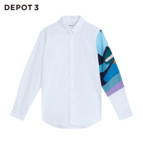 shirt Youth fashion Depot3 S M L XL XXL Benbai routine square neck Long sleeves standard Other leisure 22A1C3C73 Cotton 97% polyurethane elastic fiber (spandex) 3% Autumn of 2019