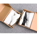 Low top shoes White, black 39,40,41,42,43 SPARTACKSS Multi material splicing Frenulum Round head Outdoor leisure shoes No interior Summer 2021