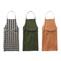 apron Army green, black and white, ochre Sleeveless apron antifouling Japanese  other Personal washing / cleaning / care XL Fog linen work public yes like a breath of fresh air