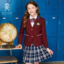 Suit / Blazer Eton Kidd / Eton Kidd female There are models in the real shooting college spring and autumn Solid color Single breasted routine other Polyester 100% 13 years old