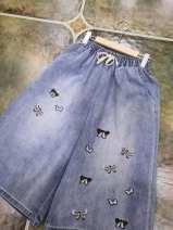 Casual pants Denim blue Average size
