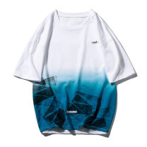 T-shirt Youth fashion routine M L XL 2XL 3XL Zheng Yan Short sleeve Crew neck easy Other leisure summer Cotton 67% polyester 33% teenagers routine tide Cotton wool Summer 2021 Alphanumeric printing cotton Creative interest No iron treatment Fashion brand Pure e-commerce (online only)