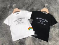 T-shirt White, black Other / other 90cm,100cm,110cm,120cm,130cm,140cm,150cm,160cm,165cm neutral Short sleeve Crew neck leisure time There are models in the real shooting nothing cotton Solid color