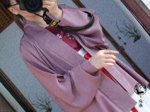 Custom made Hanfu Purple airplane sleeves M. L, others female A long dream